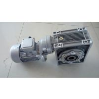 涡轮减速机加大速比用PC+NMRV090/100+YS7124-0.37KW/B5