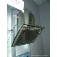 供应厂家直销  御膳坊S8817弧形钢化玻璃 侧吸式吸油烟机   吸油烟机