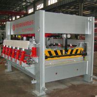 供应国森机械竹地板/竹菜板压机生产线