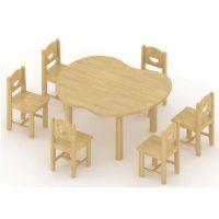 苹果桌、儿童桌椅、儿童家具、幼儿园家具、书柜、玩具柜、儿童床
