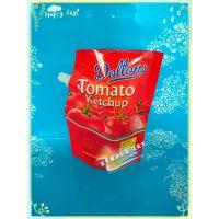 定制铝箔吸嘴袋 食品番茄酱自立包装袋 餐具清洗剂/洁净液/洗洁精自立吸嘴袋厂家