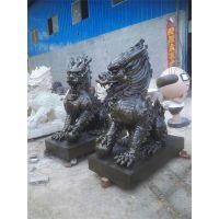 博创雕塑(图)|铜雕麒麟厂家|上海铜麒麟