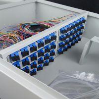 厂家直销壁挂式不锈钢12芯-144芯光缆分纤箱、分配箱、ODF箱