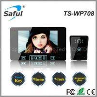 Saful TS-WP708 1V1 Wireless Video Door Phone 7 Inch Video Door Phone Doorbell Intercom System