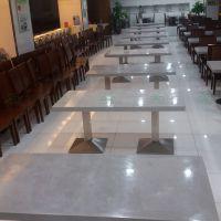 深圳8人学校食堂餐桌椅 广州法院食堂餐桌椅供应厂家--运达来