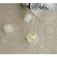 涂层 防水麻布 防水棉麻  素色亚麻布 餐厅桌布