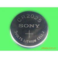原装进口Sony索尼CR2025一次性纽扣电池