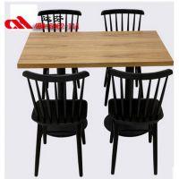 快餐复古风格餐厅卡座桌椅厂家,全国供应4006962114