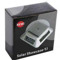 太阳能带液晶展示台 饰品展示架 首饰展示道具