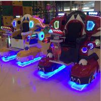 巨鲸游乐第三代广场行走机器人威猛侠 激光对战防撞雷达厂家直销
