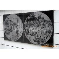 【批量供应】:各种规格各种工艺的景观墙的石材雕刻