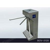 宝维智能立式三辊闸BOV-3120,工地三辊闸,小区三辊闸,工厂三辊闸,静电测试议三辊闸