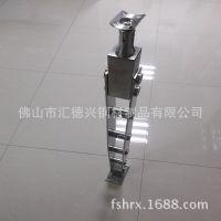 厂家供应201不锈钢栏杆立柱 不锈钢装饰配件