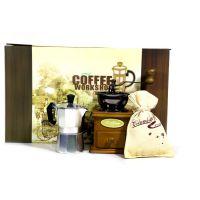 手摇咖啡机礼盒套装 滴滤壶咖啡壶咖啡研磨机 咖啡磨豆机礼品批发