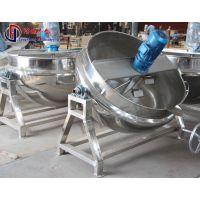 电加热夹层锅 中药加工设备夹层锅 食品卤制品蒸煮锅 丰盛优质供应商