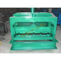 供应全自动彩钢压瓦机 屋顶板压型机 沧州兴益机械设备