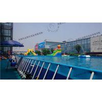 寿县支架游泳池、河南沃金、支架游泳池超大