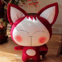 动漫公仔填充毛绒玩具猫咪可爱布艺玩偶可来图设计定制