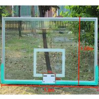 东莞康腾篮球架供应 标准篮板 钢化玻璃篮球板 透明篮球板