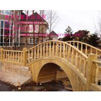 供应重庆木桥制作园林小桥安装防腐木拱桥厂家直销