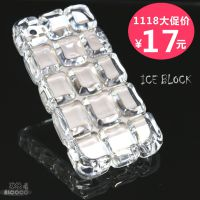 厂家新款iPhone5s清爽冰块手机壳 亚克力材质防摔 透明苹果手机壳