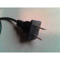 【企业集采】优质供应标准CCC认证国标二芯电源线扁插头
