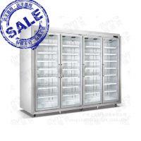 厂家直销 饮料、水果平头分体展示柜  超市保鲜冷藏设备