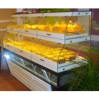 四川|成都|德阳|豪华面包展示柜|弧形蛋糕保鲜柜|直角蛋糕保鲜柜