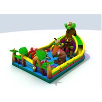受欢迎的儿童充气城堡款式有哪些 迪士尼游乐园充气滑梯 充气城堡如何保洁