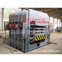 供应竹菜板热压机成套加工设备-国森机械