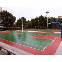 专业承接丙烯酸篮球场工程 户外网球场材料施工 羽毛球场地面改造