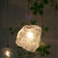 意大利灯饰 冰块玻璃个性艺术吊灯 餐厅酒吧灯具 商场店铺吊灯