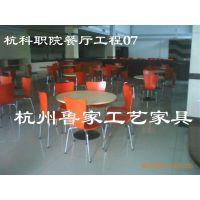 宾馆家具酒店家具餐厅家具实木电动餐桌,实木餐椅--杭科院餐厅