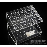 亚克力唇彩展示架  有机玻璃透明展示架有机玻璃盒子