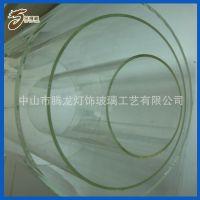 专业生产 大口径直筒高硼硅玻璃灯管 防爆玻璃灯管