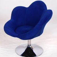 BX-23厂家直销供应花朵型小柔软椅子 舒适电脑椅休闲转椅 酒吧椅