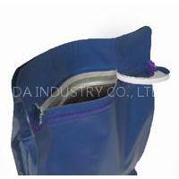Plastic Pocket Zipper Flat Bottom Pet Food Bags