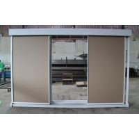 型号CZT-0894款 双面双排平拉柜 可展示地面瓷砖 木门样板 集成吊顶
