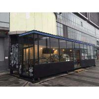 典果成CDGC彩钢板加工定制集装箱改装房改装商店咖啡coffee屋 特种办公室12m