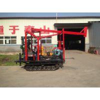 徐州中地钻探机定制GJ-150A型 液压钻机履带式改装 岩心钻机