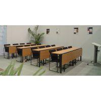 学习条桌 折叠会议培训条桌可定制 ZTD-019板式学生条形课桌众晟家具批发