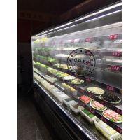 喷雾菜架,佳伯喷雾风幕柜,明档菜品冷藏柜
