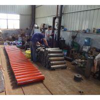 高效耐磨平行托辊 高品质槽型托辊 调心托辊支架 永伟厂家生产直销 规格全 发货快