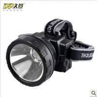DP久量760系列 3W LED双锂电头灯 强光 充电 户外照明钓鱼灯野外