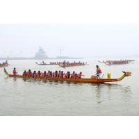 龙舟生产厂家 龙舟比赛用木船