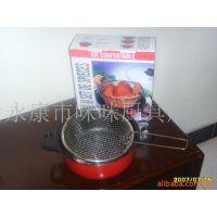 供应不粘锅 奶锅 汤锅 油炸锅   油炸平形底部汤锅形状煮锅