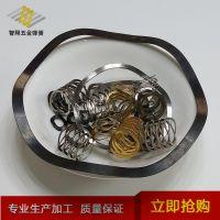 厂家直销 镀镍压缩波形片弹簧 多用途波形片弹簧批发 多款供选