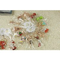 v0204 卡通钥匙扣 动物圈链 女 钻 包包挂件饰 韩国 情侣生日礼品