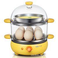 厂价直销 小熊煮蛋器ZDQ-2191双层蒸蛋器 煎蛋 煎牛排 自动断电