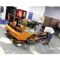 龙岗工厂出品车身贴反光标识 UV彩白彩印刷 面包车车身广告